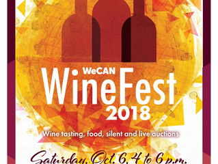 SAVE THE DATE!                            WineFest 2018 is October 6