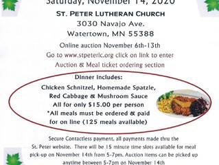 St. Peter Church to Host Fall Maifest
