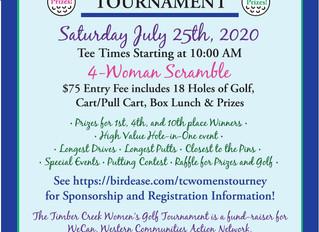 Women's Golf Tourney to Benefit WeCAN