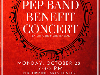 MWHS Pep Band to Host Benefit Concert