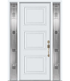 Executive entrance door