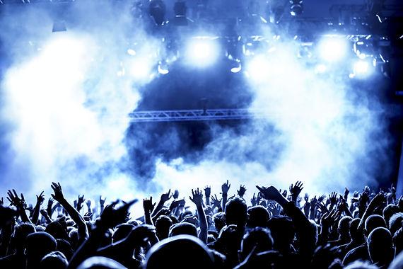 コンサートで