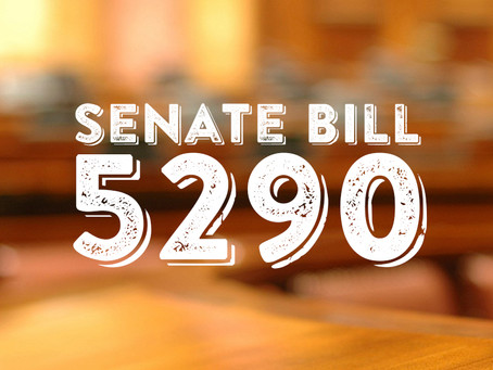 Message from SCJA President Gibson re: Senate Bill 5290.