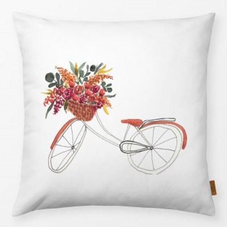 Outdoor Kissen textil—-Werk  50 x 50 cm Rad