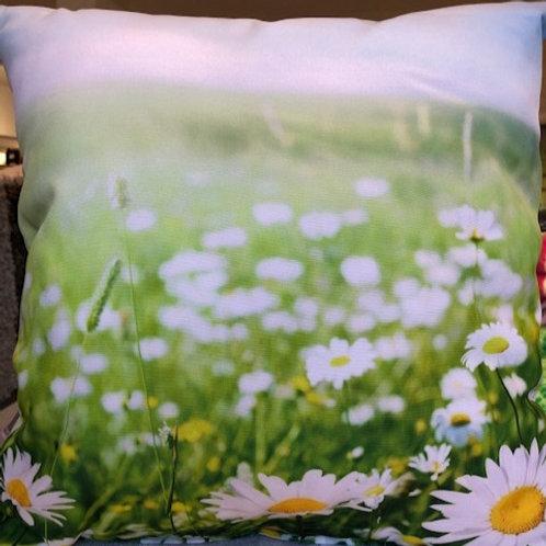 Outdoorkissen 40 x 40 cm mit Polyesterfüllung