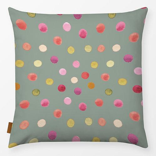 Outdoor Kissen textil—-Werk  50 x 50 cm  Dots