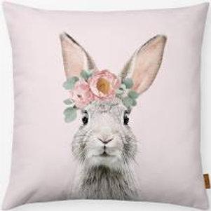 Outdoor Kissen textil—-Werk  50 x 50 cm  Bunny