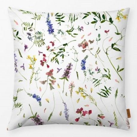 Outdoor Kissen textil—-Werk  50 x 50 cm  Wildblumen