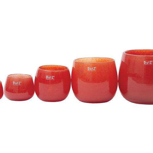 Dutz Pot  H7/D10 cm  Farbe rot