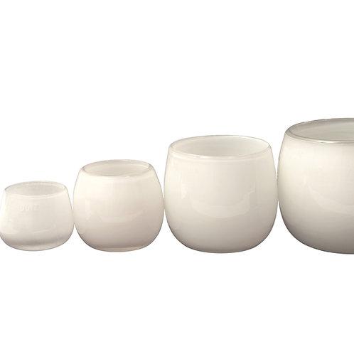 DutZ Pot / Vase Farbe: weiß , Handarbeit