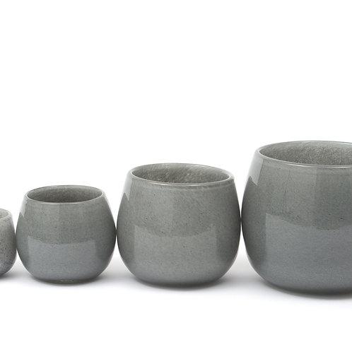 Dutz Pot  H7/D10 cm  Farbe new grey