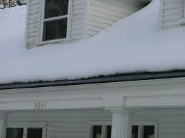 Gutter Rudder helps prevent snow and ice dams