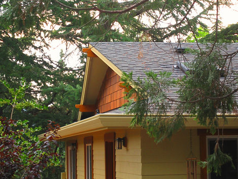 Gutter Rudder adds function while also complimenting your homes beauty