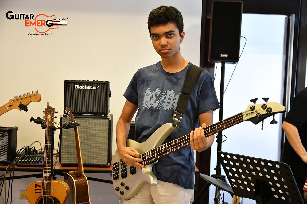 Advay bassist