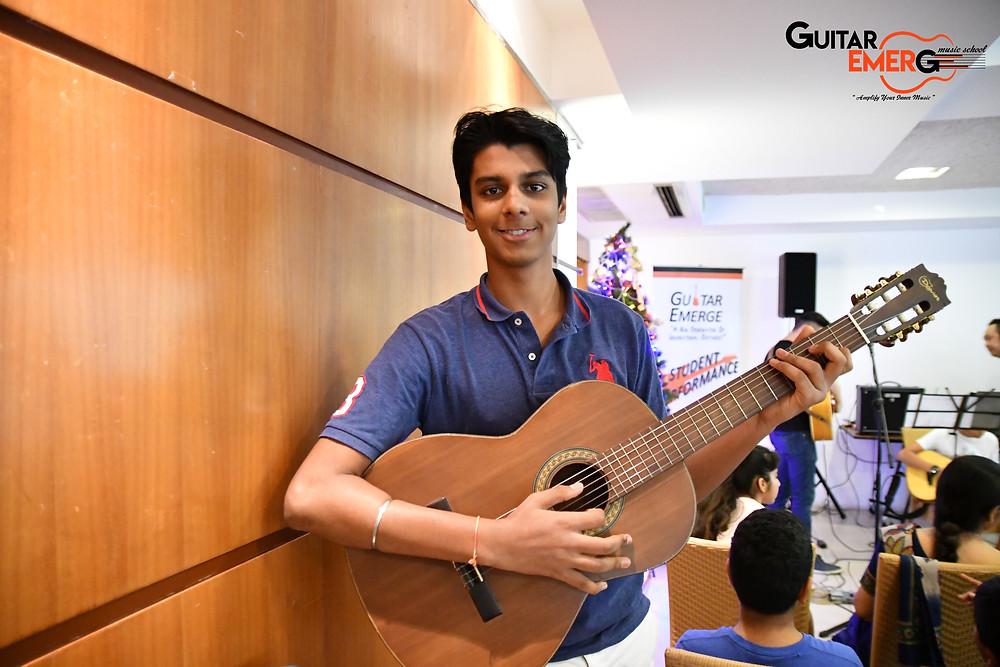 Uddish Classical Guitarist
