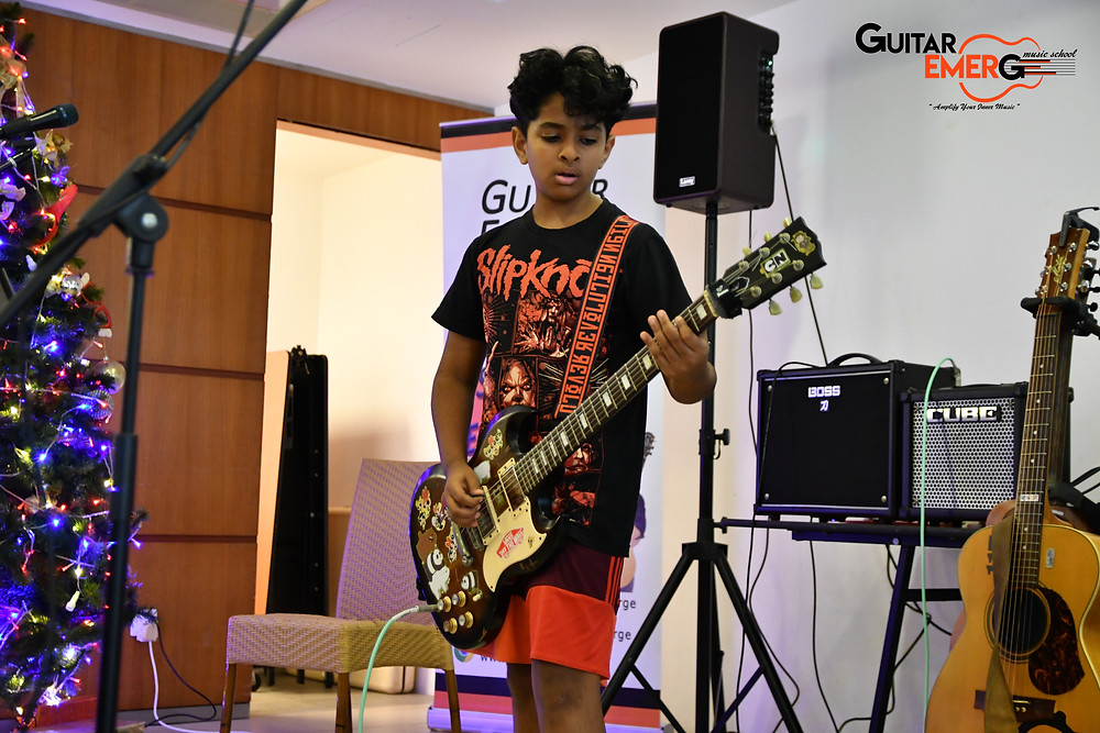 Ananth Electric Guitarist