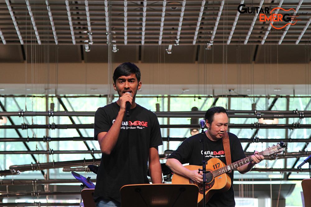 Raghav on vocals