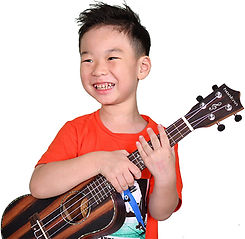 Guitar Lessons Singapore - Guitar Emerge Ukulele Students