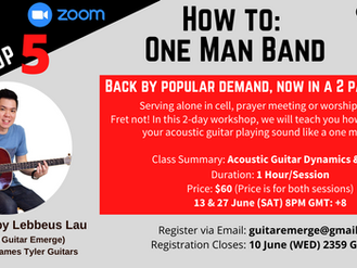 Online Worship Guitar Workshop 5 - How To: One Man Band