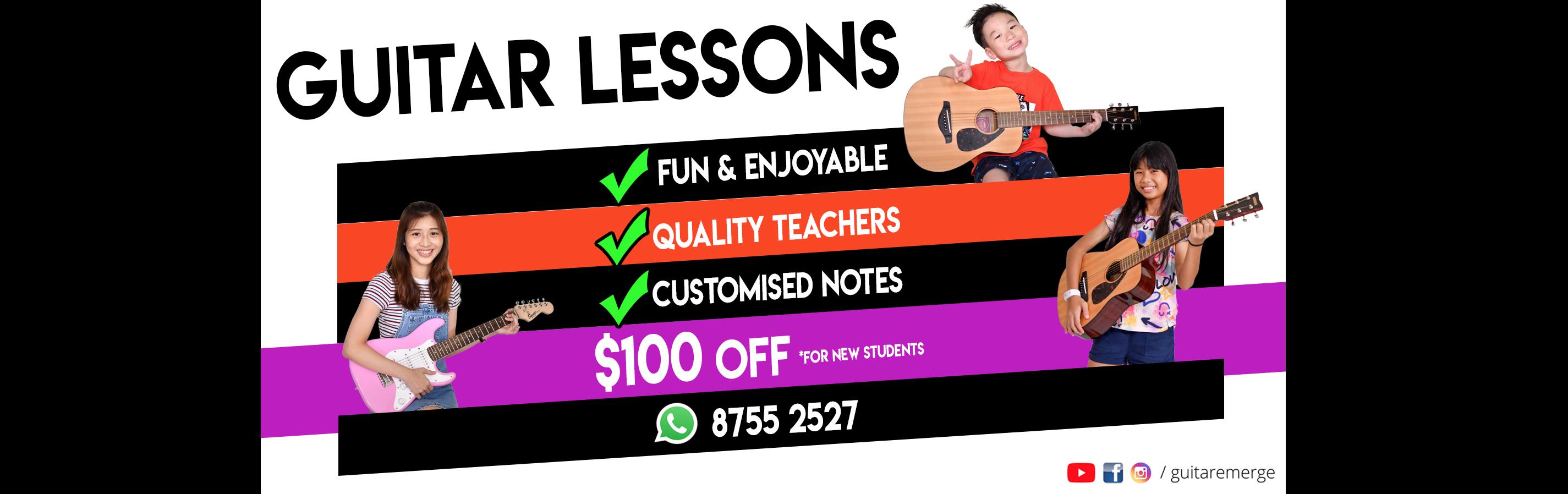 Guitar Lessons Promo