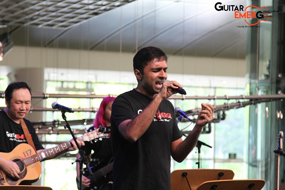 Vivek on vocals