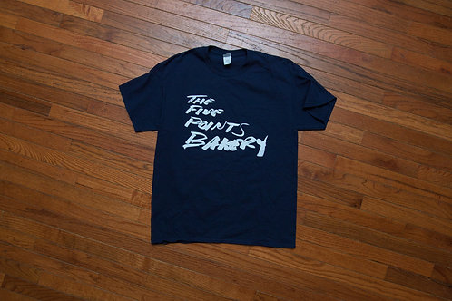 Script T-Shirt Blue