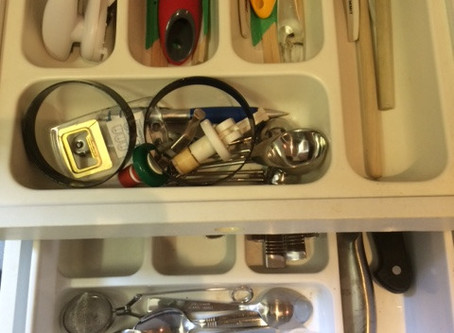 The secret drawer…. it had been there all along!