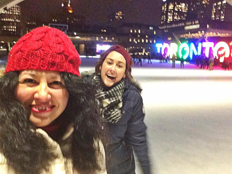 Toronto with my girl