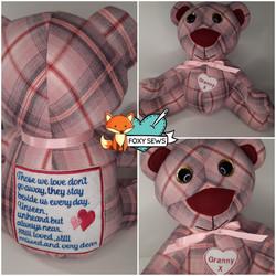 Foxy Sews Memory Bear - Big Nose