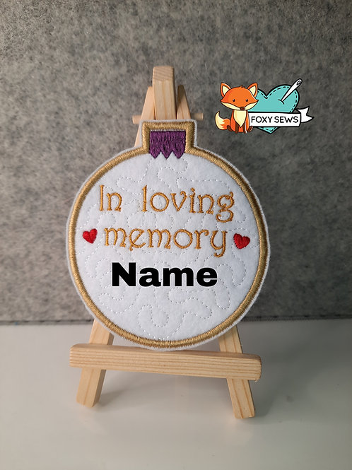 In Loving Memory, Memory Patch