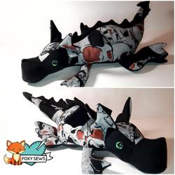Foxy Sews Memory Bears - Dragon Hoodie