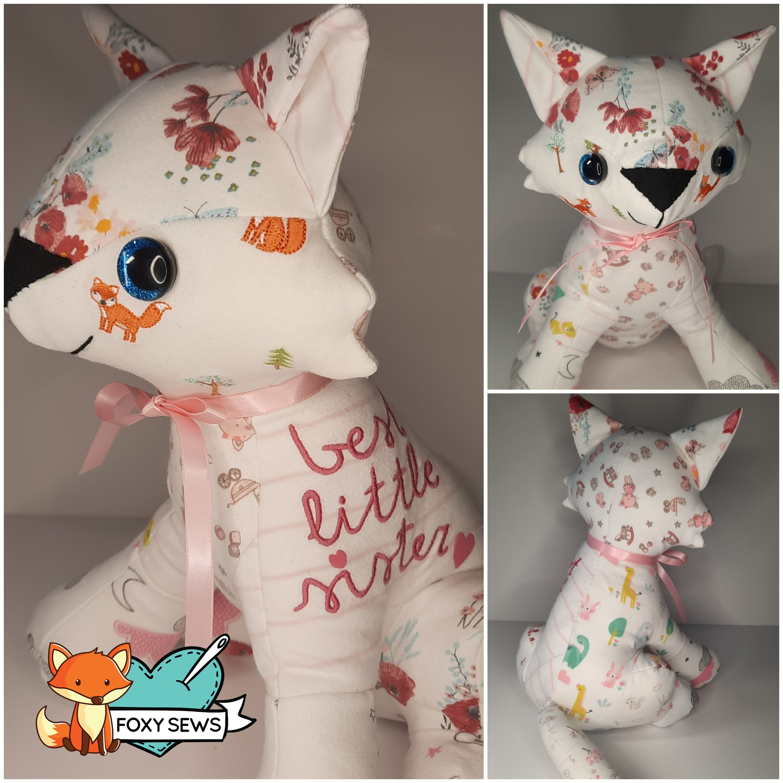 Foxy Sews memory Bear - Baby 1