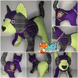 Foxy Sews Memory Bears - Cat Principal