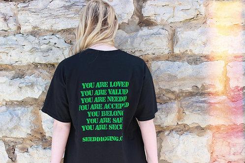 Seed Digging 7 Innate Needs T-Shirt (Black)
