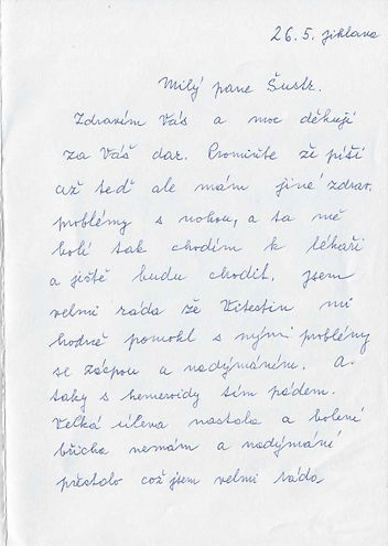 Sobotková str.1 Sobotková Zdeňka JIHLAVA