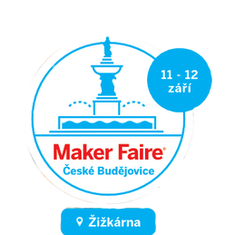Přijďte si popovídat - první budějovický Marker Faire  11. - 12.9.2021