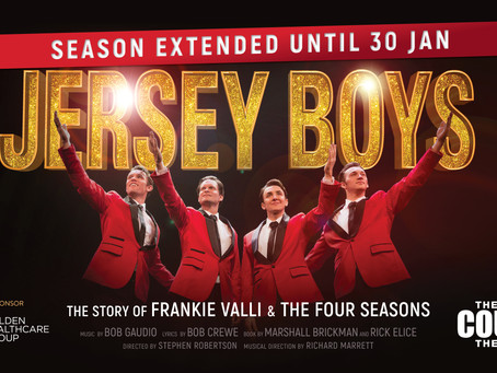 Jersey Boys Season Extended Due to Popular Demand!
