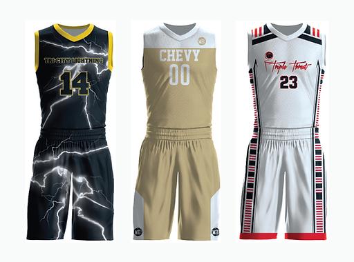 Custom Men's Basketball Jerseys & Unifor