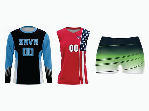 Custom Youth Volleyball Jerseys &Unifor