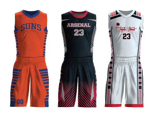 Custom Youth Basketball Jerseys & Unifo