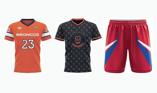Custom Flag Football Jerseys & Uniforms.