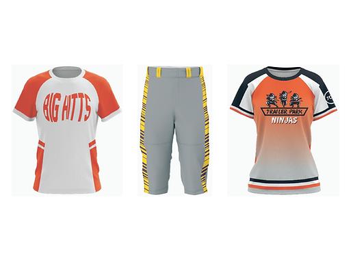 Custom Women's Baseball Jerseys & Unifor