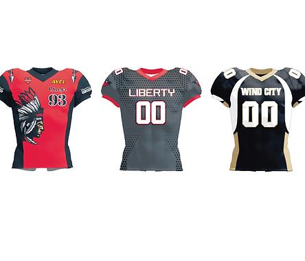 Custom Women's Football Jerseys & Unifor