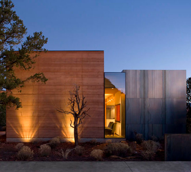 a modern home project