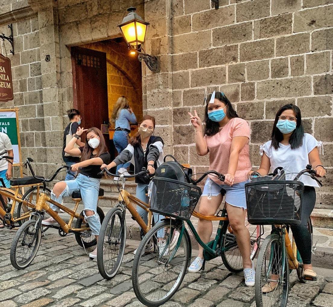 Bamboo Bike Rental in Intramuros