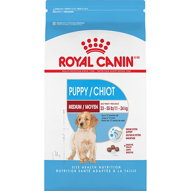 Royal Canin Medium Puppy Dry Dog Food, 30 lb
