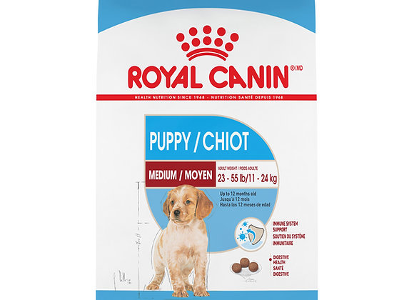 Royal Canin Medium Puppy Dry Dog Food, 30 lb