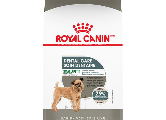 Royal Canin Small Dental Care Dry Dog Food, 17 lb