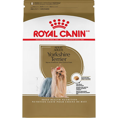Royal Canin Yorkshire Terrier Adult Dry Dog Food, 10 lb