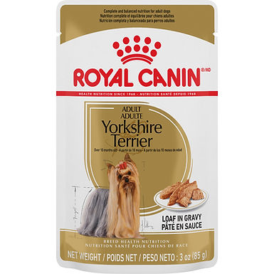 Royal Canin Yorkshire Terrier Pouch Dog Food, 3 oz